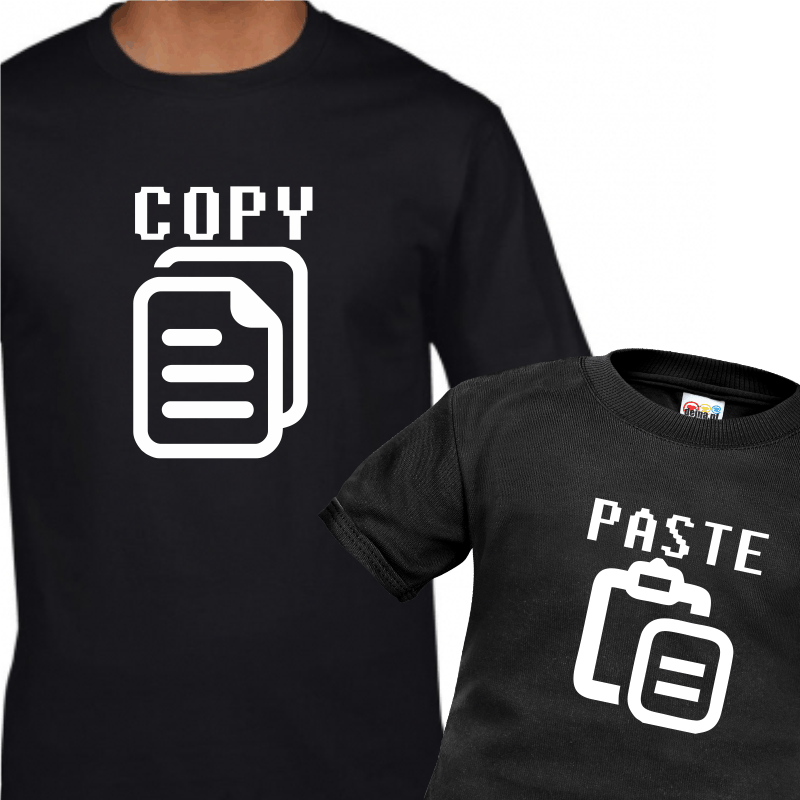 Copy & Paste -wierna kopia Ojca